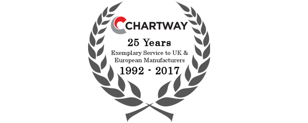 Chartway 25 Years of Business